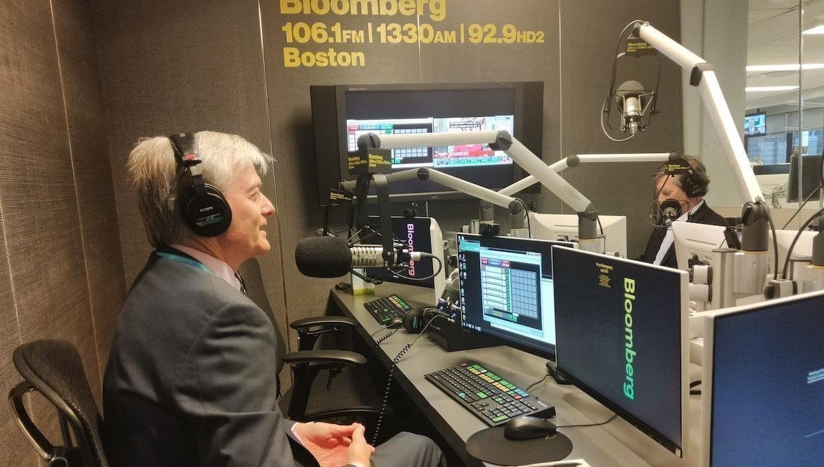Bruce Monrad talks about the markets on the Bloomberg Baystate Business Hour